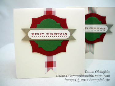 stampin up, dostamping, dawn olchefske, demonstrator, season of sweets, 3x3 gift enclosure cards, christmas