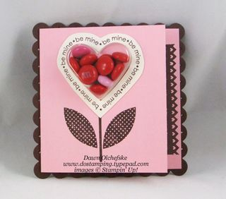 stampin up, dostamping, dawn olchefske, demonstrator, sweetheart stamp set, sweetheart treat cups, valentine