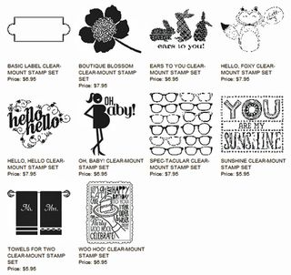 dostamping, dawn olchefske, stampin up, specials, single stamps