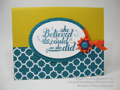 stampin up, dostamping, sab, sale-a-bration, Sycamore Street, Patsy Waggoner