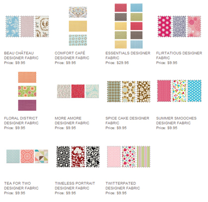 stampin up, dostamping, dawn olchefske, Designer Fabric, Fabric Sale, Fabric Frenzy