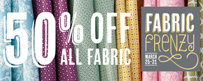 stampin up, Fabric Frenzy sale
