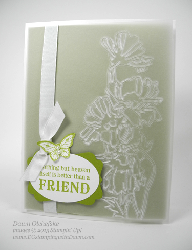 QC Flower Garden: 7 Ideas for Vellum Card Stock - DOstamping with ...