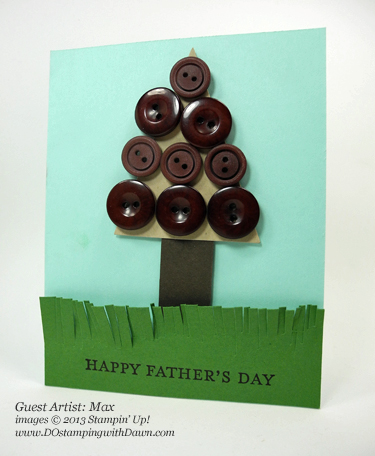 stampin up, dostamping, dawn olchefske, father's day
