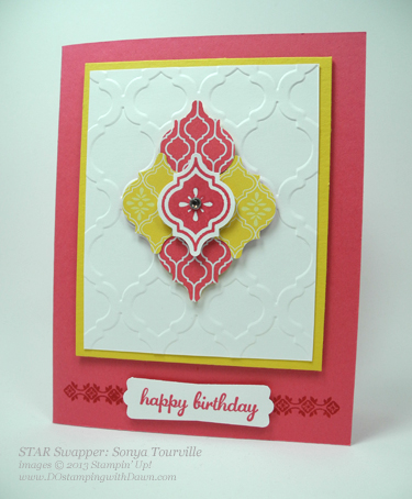 stampin up, dostamping, DOstamperSTARS, Mosaic Madness Bundle Sonya