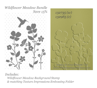 stampin up, dostamping, wildflower meadow bundle