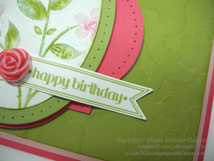 stampin up, dostamping, wildflower meadow bundle, control freak, diane vander galien