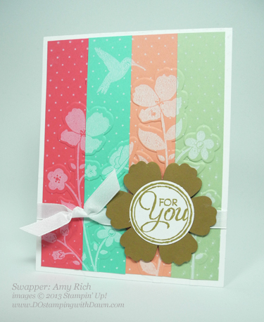 stampin up, dostamping, wildflower meadow bundle, 2013-2014 in color, amy rich