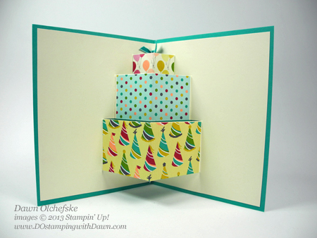 Stampin Up Dostamping Dawn Olchefske Pop Card Video Birthday