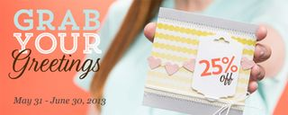 Stampin' Up! Special, Grab Your Greetings, stampin up, dostamping, dawn olchefske, demonstrator