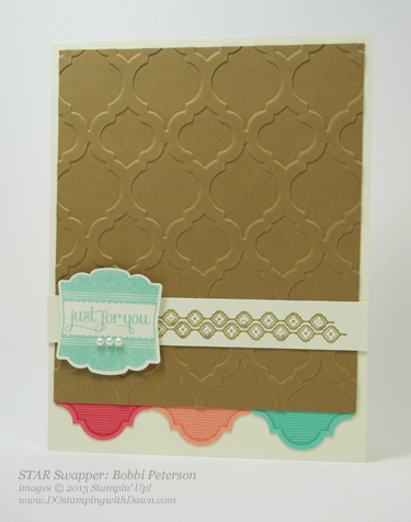 stampin up, dostamping, DOstamperSTARS, Mosaic Madness Bundle, Bobbi Peterson