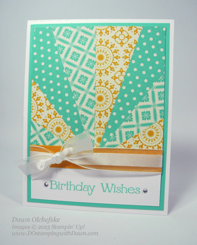 stampin up, dawn olchefske, dostamping, starburst, sunburst, card making, technique, video, AfternoonPicnic