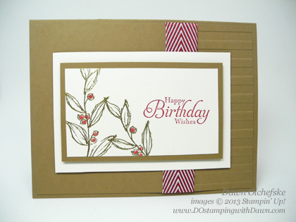 stampin up, dostamping, dawn olchefske, demonstrator, new hostess stamp, simply sketched, chevron ribbon