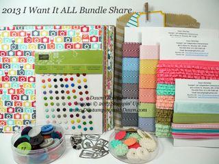 2013-I-Want-it-All-Bundle, dostamping, dawn olchefske, product shares