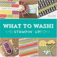 stampin up, dostamping, dawn olchefske, washi tape, what to washi