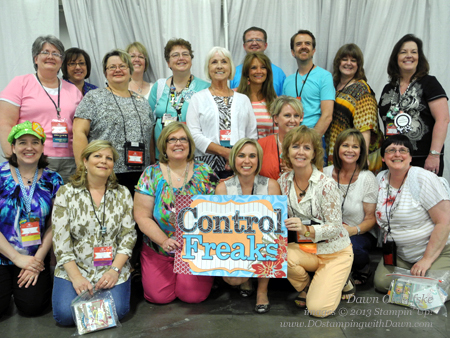 2013 Controlfreaks, Stampin' Up! Convention