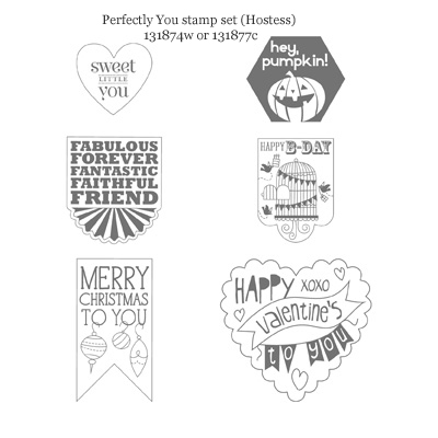stampin up, dostamping, dawn olchefske, hexagon punch, perfectly you hostess, 2013 holiday catalog