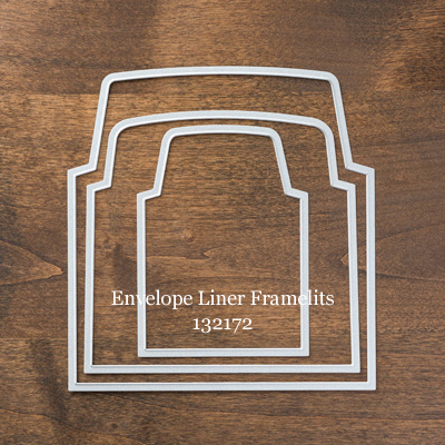stampin up, Big Shot, Envelope Liner Framelits