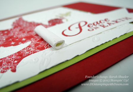 dostamping, dawn olchefske, dostamping, christmas card ideas, Calm Christmas