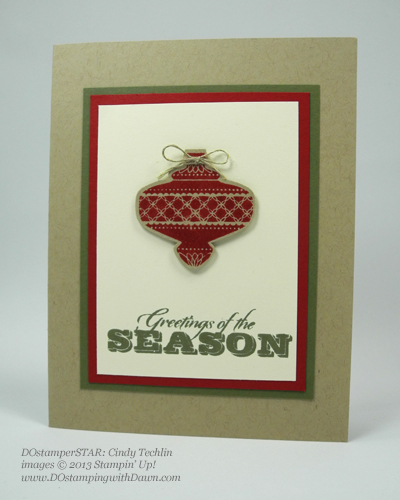dostamping, stampin up, dawn olchefske, christmas cards, holiday mini, Christmas Collectibles