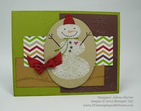 dostamping, stampin up, dawn olchefske, christmas cards, holiday mini, Snow Day