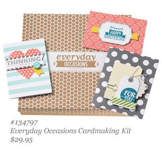 Check out the new Stampin Up! Everyday Occasions Cardmaking Kit video by DOstamping, Dawn Olchefske