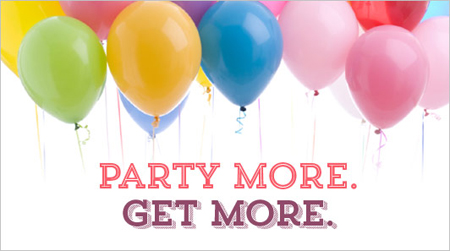 Party-More-stampin up October special, party more, get more, extra $25