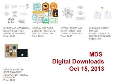 Stampin' Up! 10-15 MDS Digital Dowloads, DOstamping, Dawn Olchefske