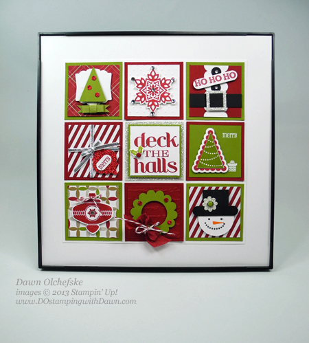 DOstamping, Dawn Olchefske Stampin' Up! Season of Style Christmas Sampler