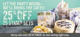 DOstamping, Dawn Olchefske, Stampin' Up! stamp sale 25% off