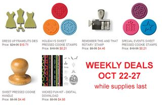 DOstamping, Dawn Olchefske, 10/22 Stampin' Up! Weekly Deals