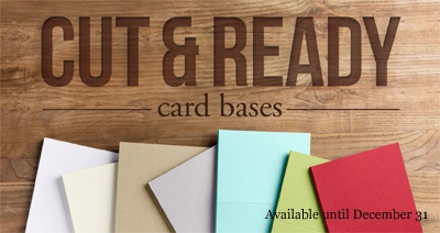 New Cut & Ready Card Bases, Stampin' Up!, DOstamping, Dawn Olchefske
