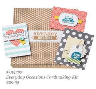 new stampin up everyday occasions cardmaking kit, dostamping, dawn olchefske