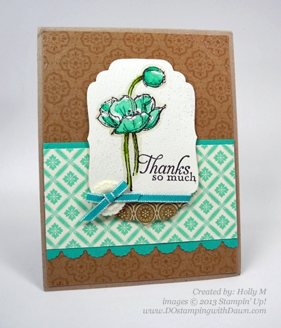 dostamping, Dawn Olchefske, Stampin' Up! Simply Sketched hostess set, created by Holly