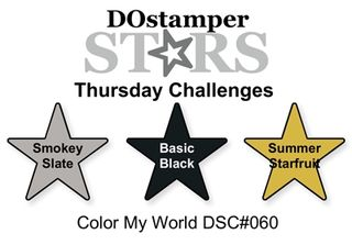 #dostamping, Dawn Olchefske, DOstamperSTARS Thursday Challenge, Stampin' Up! #colorcombo