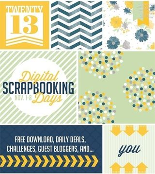 Stampin' Up! Digital Scrapbooking Days, MDS, free daily downloads