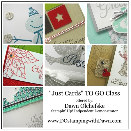 #dostamping, #stampinup card kits, holiday edition