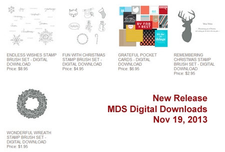 11-19 MDS Digital Downloads, dostamping, stampinup