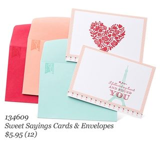 #stampinup #WholeLotOfLove #Valentines #dostamping #SweetSayingsCardsEnvelope