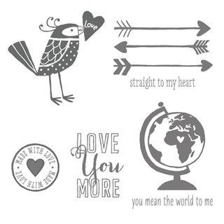 #stampinup #WholeLotOfLove #Valentines #dostamping #LoveYouMoreStampSet