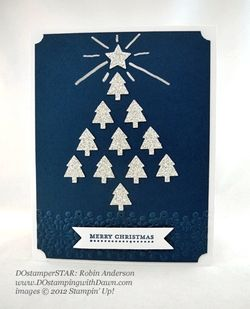 stampin up, dostamping, dawn olchefske, demonstrator, robin anderson, merry minis punch pack, punch art, christmas