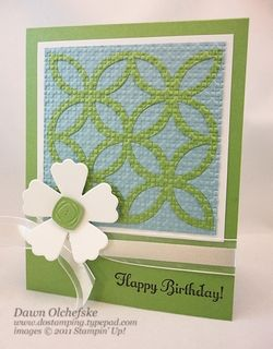 #dostamping, #stampinup, #birthday, #funflowersdie, #lattice