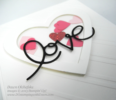 #dostamping, #ShakerCard #cardmaking, #stampinup #ExpressionThinlits, #ValentineCard