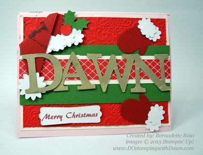 #dostamping, #stampinup #christmascards, #punchart