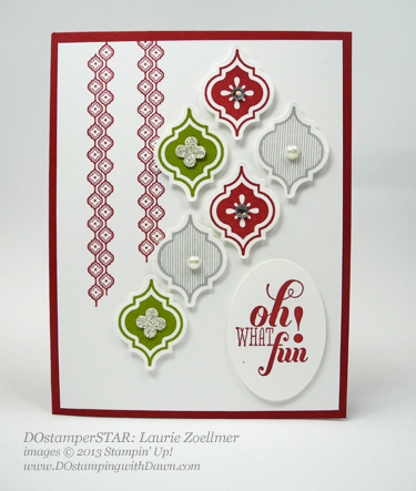 Laurie Zoellmer, #dostamping, #stampinup #christmascards
