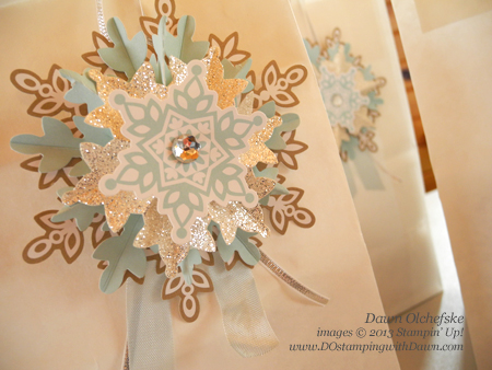 #dostamping, #stampinup, #festiveflurry, #diy, #packaging
