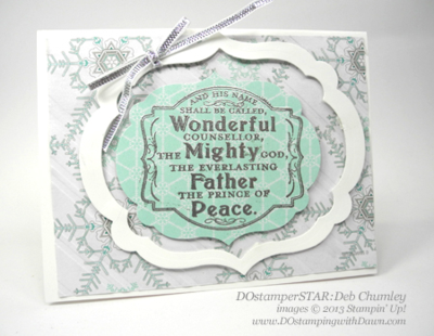 Deb Chumley, #dostamping, #stampinup #christmascards