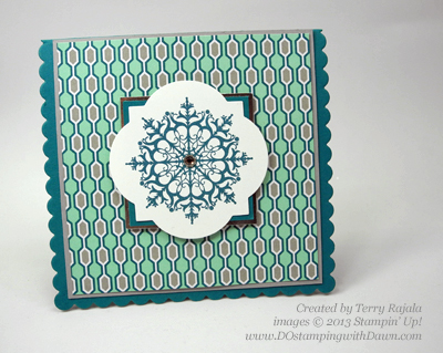Terry Rajala,#dostamping #stampinup #christmascards