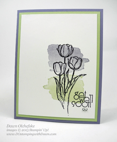stampin up, dostamping, dawn olchefske, 2014occasionscatalog, happywatercolor, blessedeaster, cardmaking