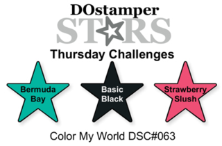 #challenge thursday, #dostamping, #dostamperstars, #ColorCombo